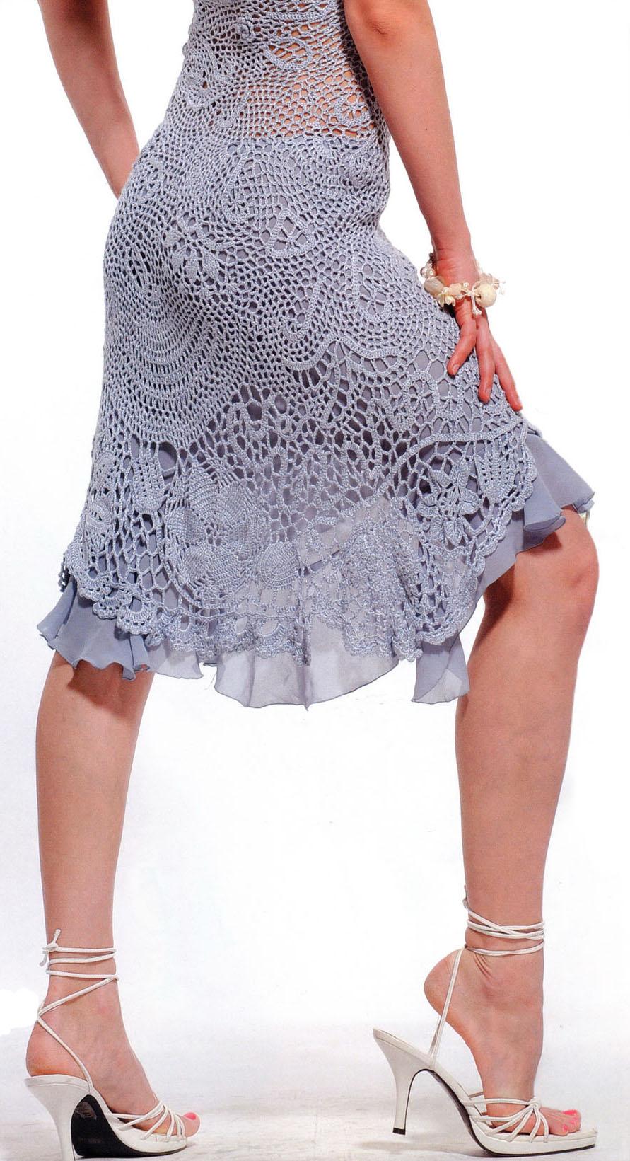 Crochet dress crochet Alisa