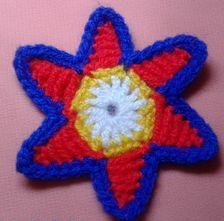 звездочка крючком