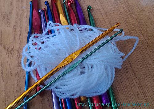 Железные крючки для вязания