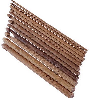 Деревянные крючки для вязания