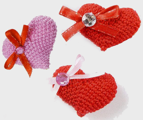 How to knit heart crochet