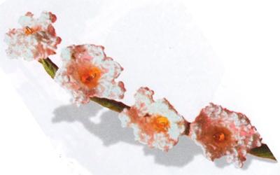 Квіти конвалії гачком об'ємні