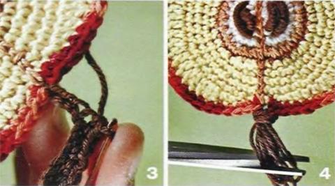 Appliques crochet (+ schema)
