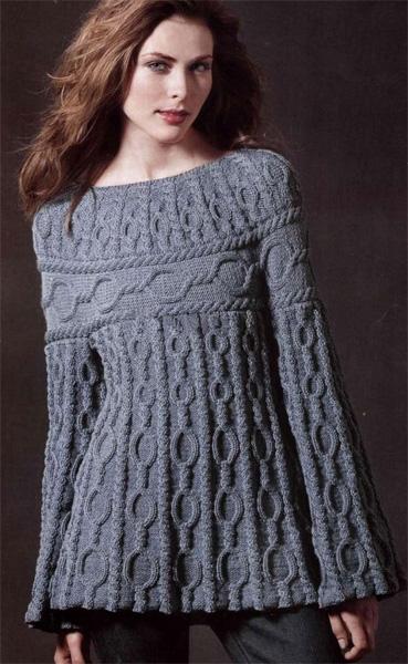 Original tunic knitting