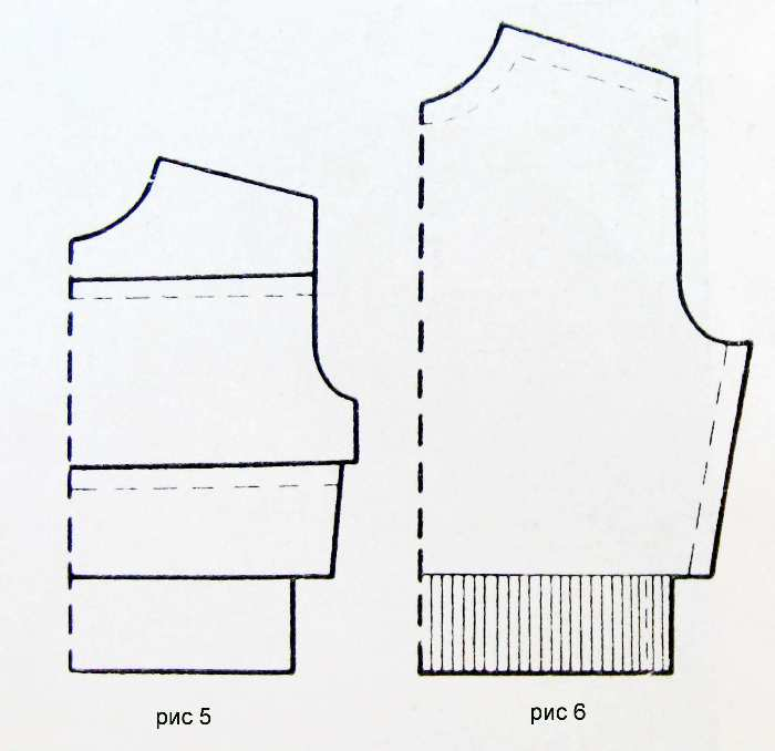 Build patterns for knitting