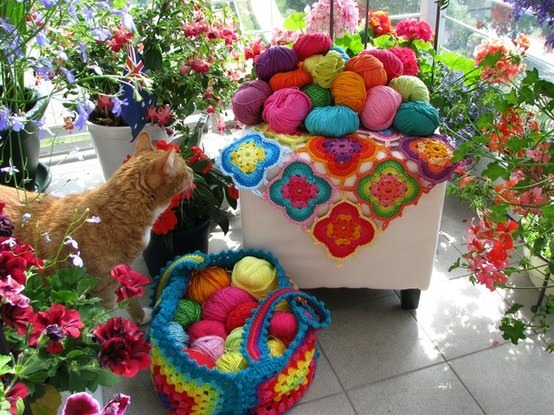 Knitted accessories