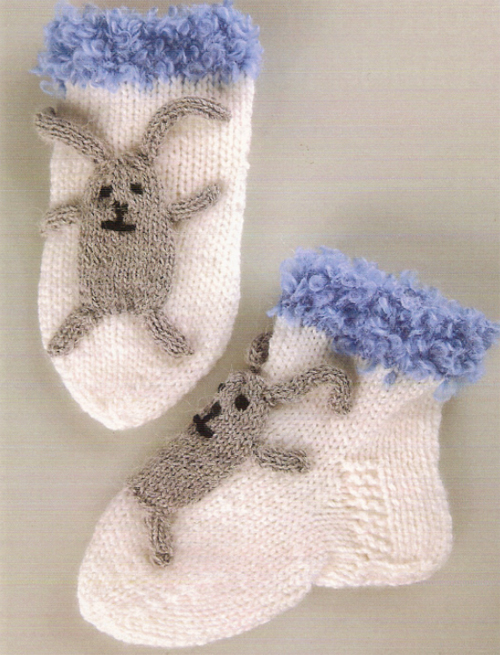 Як зв'язати дитячі шкарпетки спицями на 3 роки