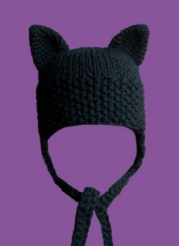 How to knit eyelets on the cap